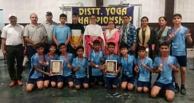 BVM (Udham Singh Nagar) Emerges Victorious in District Yoga Championship