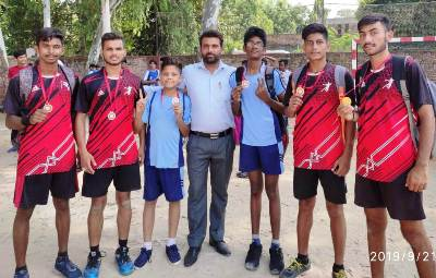 BVM, USN Handballers won Gold at District Level